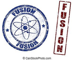fusione, francobolli