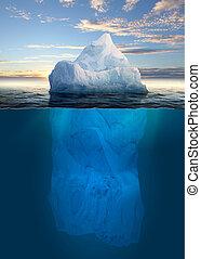 fusione, iceberg