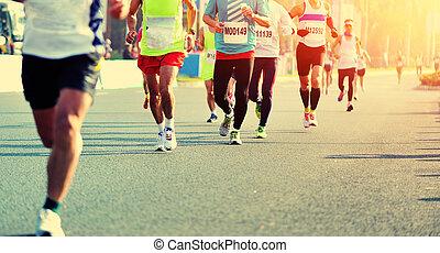 futás, maratoni futás, faj