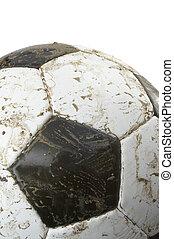 futball, closeup, labda