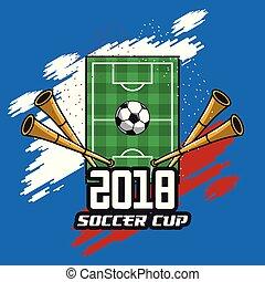 futball, fogalom, csésze