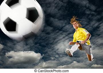 futball, hölgy