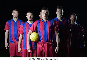 futball játékos, befog