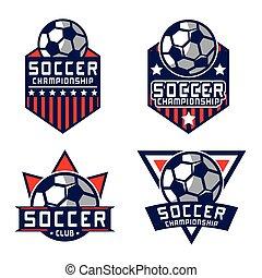 futball, jel, amerika, jel