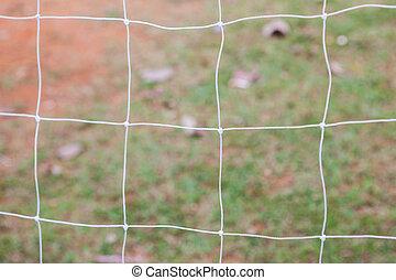 futball kapu, háló, képben látható, elken háttér