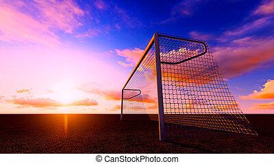 futball kapu