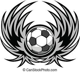 futball, kasfogó, sablon