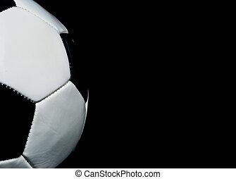 futball, másol, háttér, hely