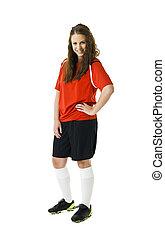 futball, nő