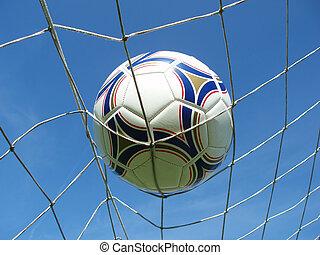 futball nettó, noha, labda
