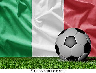 futball, olaszország, labda