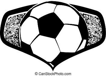 futball, pajzs, struktúra