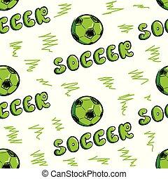 futball, seamless, struktúra, herék