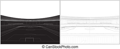 futball, stadion, labdarúgás