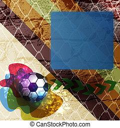 futball, tervezés, háttér