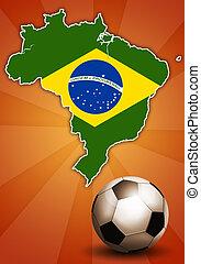 futball, világbajnokság, brazília