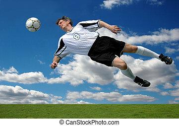 futbol, acción