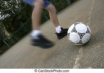 futbol, calle