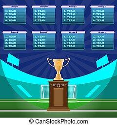 futbol, campeonato, estadio