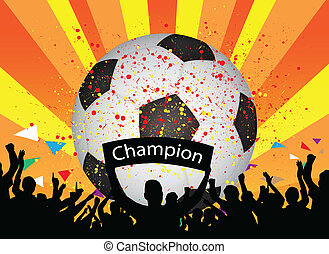 futbol, celebración