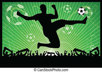 futbol, concepto