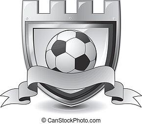 futbol, emblema