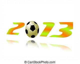 futbol, o, fútbol,  2013