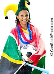 futbol, partidario, sudafricano