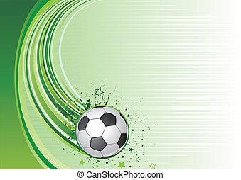 futbol, plano de fondo