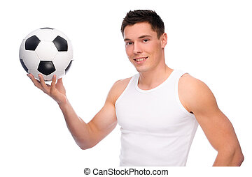 futbol, ventilador