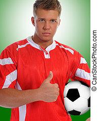 futbolista, jugador