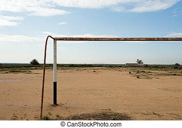 futebol, africano, passo