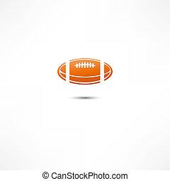 futebol americano, ícone