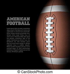 futebol americano, fundo