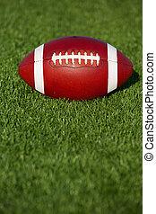 futebol americano, ligado, a, relvar