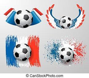 futebol, campeonato, frança