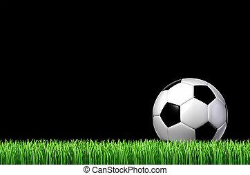 futebol, conceito, desporto