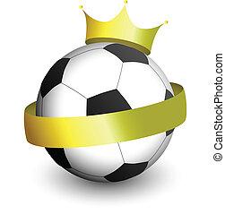 futebol, coroa