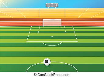 futebol, estádio