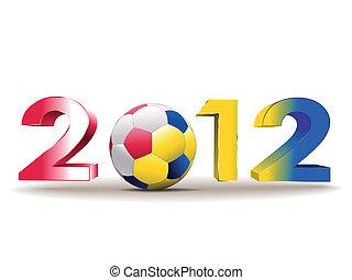 futebol, europeu, campeonato, 2012