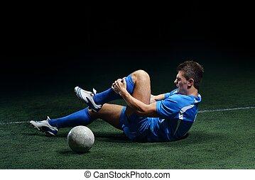 futebol, ferimento