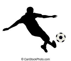 futebol, footballer