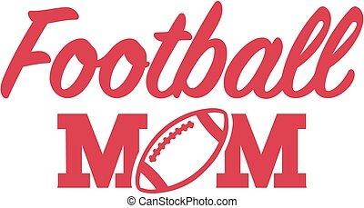 futebol, mãe