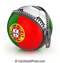 futebol, portugal, nação