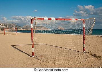 futebol, praia, passo
