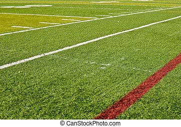 futebol, sideline