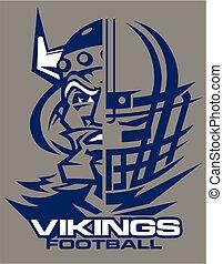 futebol, vikings