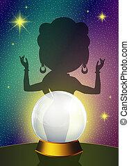 Future ball - illustration of future ball