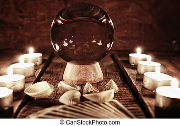 future teller candle divination