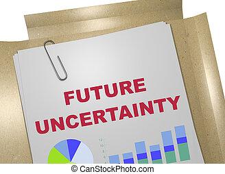 Future Uncertainty concept